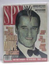Spy Magazine - June 1993 - Arnold Shwarzenegger Cover