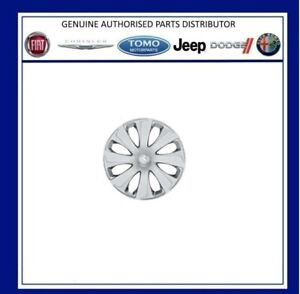 """15"""" Full Size Hubcap For Peugeot 108 With Steel Wheels B000879980 New Genuine"""