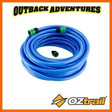 OZTRAIL DRINKING WATER HOSE 20M - BLUE 16MM CARAVAN CAMPING HOSE