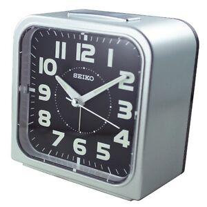 [SEIKO] loud alarm clock luminous quite sweep snooze night LED light QHK025