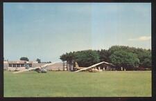 Postcard ELMIRA New York/NY  Schweizer Soaring Glider Plane School view 1950's