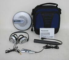 Panasonic Sl-Ct582V Portable Cd/Mp3 Player w Headphones, Case & Accessories