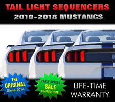 2010, 2011, 2012 Mustang Sequential Tail Light – fit:  All Models