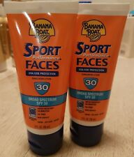 Banana Boat Sport Performance Faces Sunscreen Lotion SPF 30 3 oz