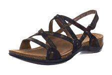 NEW DANSKO Jovie Women's Coffee Swirl Leather Strappy Comfort Sandals US 10.5 M
