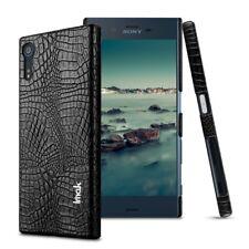Sony Xperia XZ XZs IMAK Hard Case Ruiyi Series Croco Skin Schutz Hülle Schwarz