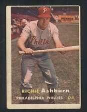 1957 Topps #70 Richie Ashburn VGEX Phillies 80227