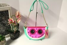 Luv Betsey TUTTIE WATERMELON Crossbody Turquoise Pink Shoulder Bag Purse NWT