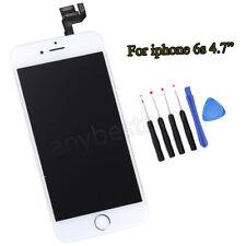 Pour iPhone 6S Numériseur écran Tactile LCD Digitizer Bouton Home Caméra Blanc