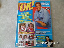 MAGAZINE OK N°836 20/01/1992 MARK PAUL GOSSELAAR MICHAEL JACKSON J65
