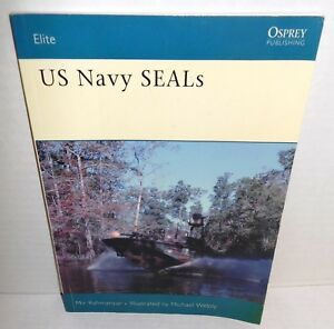 BOOK OSPREY Elite #113 US Navy SEALs 2005 Ed