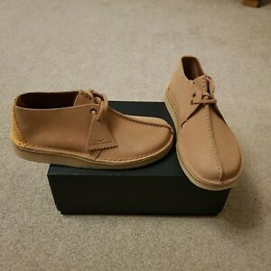 BNIB Clarks Originals Desert Trek Light Blue Suede First Shoes