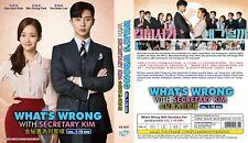 KOREAN DRAMA~What's Wrong With Secretary Kim?(1-16End)English sub&All region