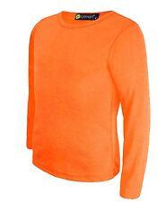 Lotmart 2726 Orange 5-6 Y Kids Basic Top