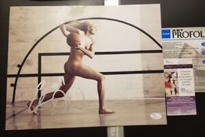 Elena Delle Donne signed ESPN The Body Photo auto Washington Mystics 11x14 JSA