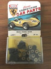 NOS Vintage Classic Slot Car Model Brass Pinion Gear 16T .093 I.D. #3211 New