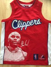 Majestic Elton Brand Clippers Basketball Jersey Sewn Logo Youth Size Small
