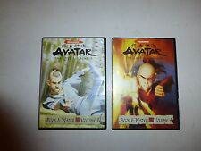 2 x AVATAR: THE LAST AIRBENDER BOOK 1, VOLUMES 3 & 4 DVD ACTION B119