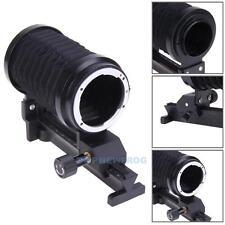 Single Macro Extension Bellows Tube for Nikon Mount Camera Black
