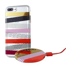 iPhone 7 Plus Case ‑ wit & Delight ‑ Washi Tape Stripe