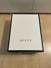 GUCCI Authentic Empty Gift Storage Large XL Shoe Box 16x12x6.5 w/ Tissue Paper
