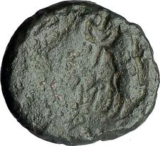 THESSALONICA Macedonia 148BC RARE Genuine Ancient Greek Coin ZEUS & GOATS i62703