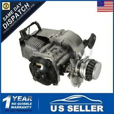 49cc Mini Motor Bike Quad Engine W/ Carburetor Pullstart Bell Clutch Air Filter