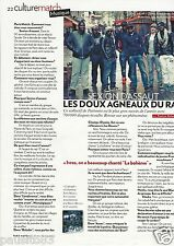 Coupure de presse Clipping 2012 Sexion d'Assaut   (1 page)