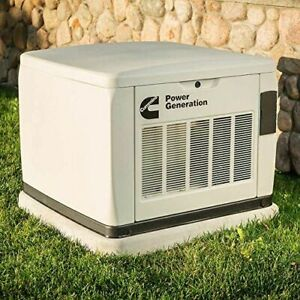 Cummins 20Kw Connect Series Home Standby Generator System W/ Transfer Switch