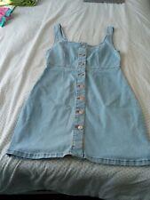 Ladies denim dress size 12