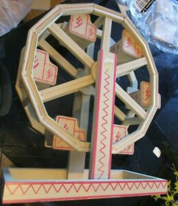 Pottery Barn Kids Wooden Wood Ferris wheel does not move  New wo tag