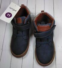 Cat & Jack Toddler Boys' Field Boots Navy Size 11