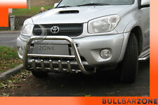 TOYOTA RAV4 II 2000-2005 TUBO PROTEZIONE MEDIUM BULL BAR INOX STAINLESS STEEL