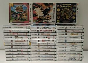 Nintendo 3DS Games Boxed Pick Our Own Games **Fast Postage**