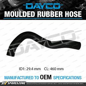 Dayco Upper Radiator Hose for Honda CRV RD7 2.4L 4 cyl DOHC VTEC 16V MPFI