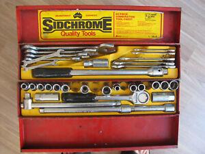 Vintage SIDCHROME Tool Kit