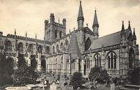 """Vintage B&W Postcard CHESTER Cathedral Cheshire """"The Cestrian Series"""""""