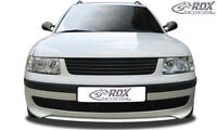 RDX Frontspoiler VW Passat 3B Front Spoiler Lippe Vorne Ansatz