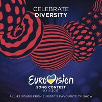 EUROVISION SONG CONTEST KYIV 2017 - Celebrate Diversity 43-track 2-CD BRAND NEW
