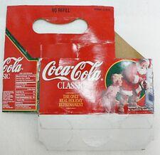 COCA COLA CARDBOARD 6 PACK BOTTLE CARRIER