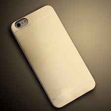 Thin Brushed Metal Aluminium Hard Back Phone Case Shockproof For iPhone 6 7 Plus