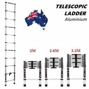 2/2.6/3.2M Multi Purpose Aluminium Ladder Telescopic Folding Extension Step