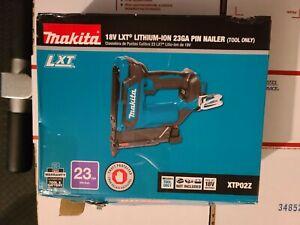 """Makita XTP02Z 18V LXT Lithium-Ion Cordless 1-3/8"""" Pin Nailer, 23 Ga, Tool Only"""