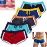 Swim Shorts Swimwear Swimming Trunks Charm Underwear Boxer Briefs Pants Men's