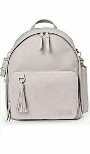 Skip Hop Diaper Backpack Back Pack Greenwich Simply Chic Portobello New NWT