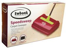 Ewbank leggera Handy manuale velocità Sweep Carpet Sweeper PULITORE Nero