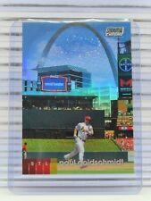 2020 Stadium Club Chrome Paul Goldschmidt Refractor Cardinals Q44