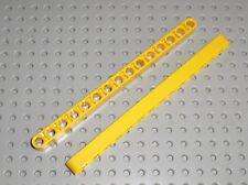 2 x LEGO Technic Yellow Beam 15 ref 32278 / set 42030 42006 8275 8295 8146 8421