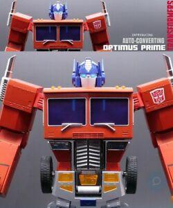 ROBOSEN Transformers Optimus Prime Auto-Converting Robot Collectors Ed. Sold Out
