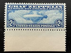 US Scott #C15 Graf Zeppelin Issue of 1930.  PF Cert. Mint OG Never Hinged.
